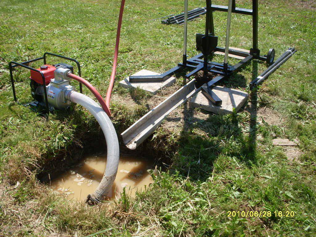 Гидробурение скважин на воду своими руками: видео инструкция