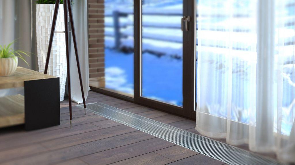 Напольный радиатор: критерии выбора для отопления дома, особенности и виды
