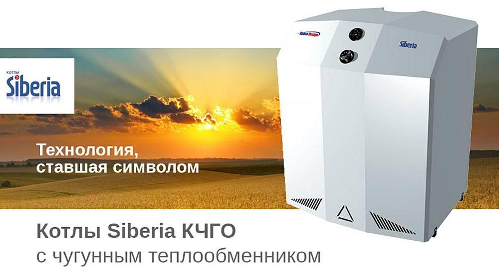 Российские газовые котлы отопления напольные - система отопления