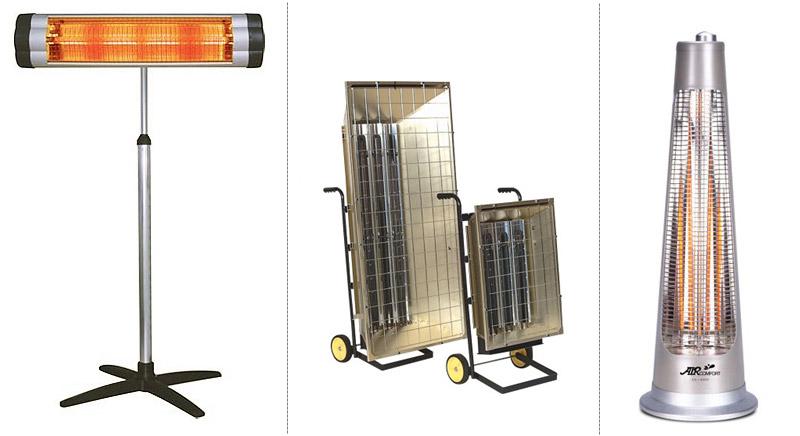 Инфракрасная лампа: строение и виды ик-лампочек, варианты их применения в помещениях и на улице