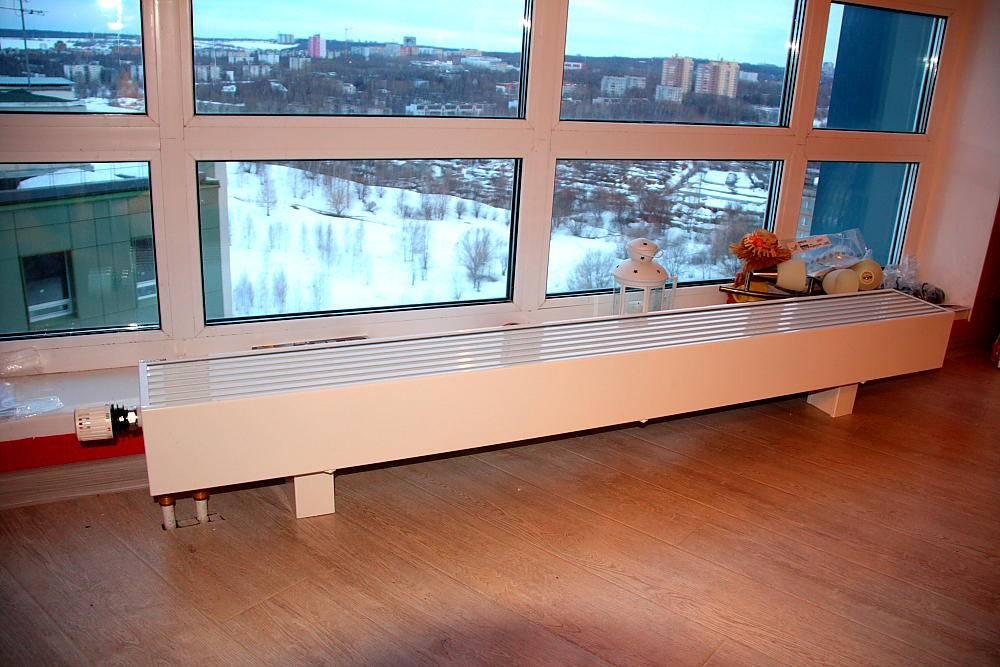 Напольные радиаторы для панорамных окон - клуб мастеров