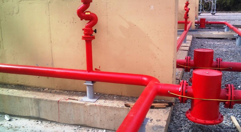 Объединенный хозяйственно противопожарный водопровод