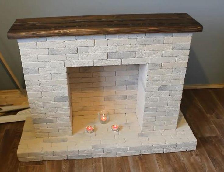 Камин своими руками: пошаговая инструкция как построить декоративный и настоящий камин