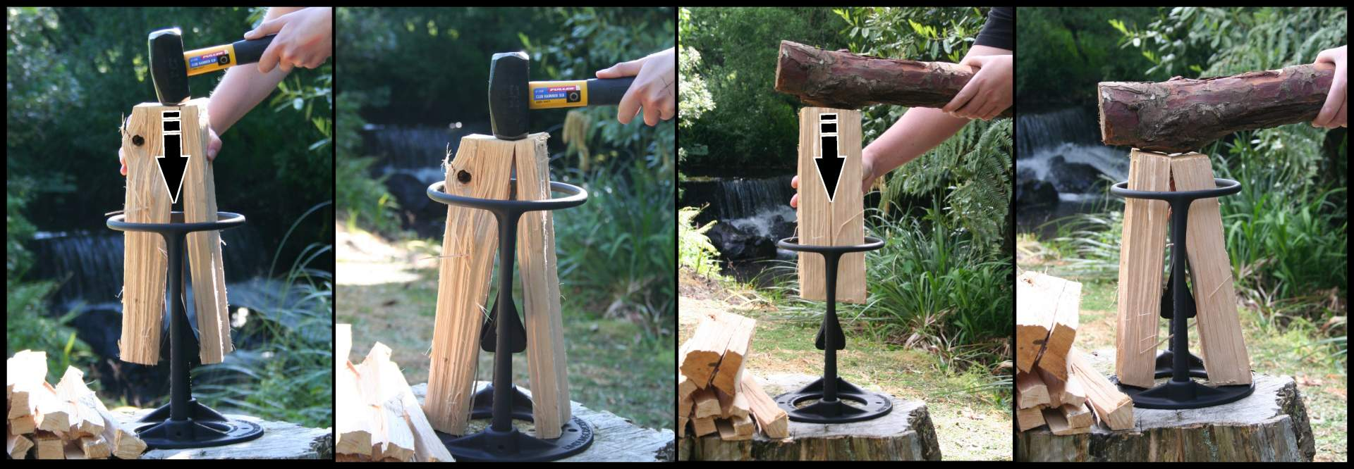 Самодельный колун для колки дров