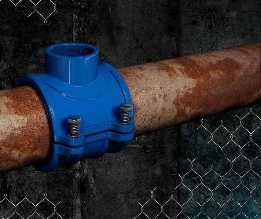 Как врезаться в водопроводную пластиковую трубу?