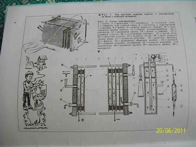 Как изготовить водородный генератор