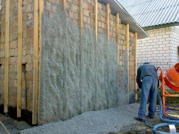 Способы утепление стен эковатой, как своими руками утеплить стены эковатой