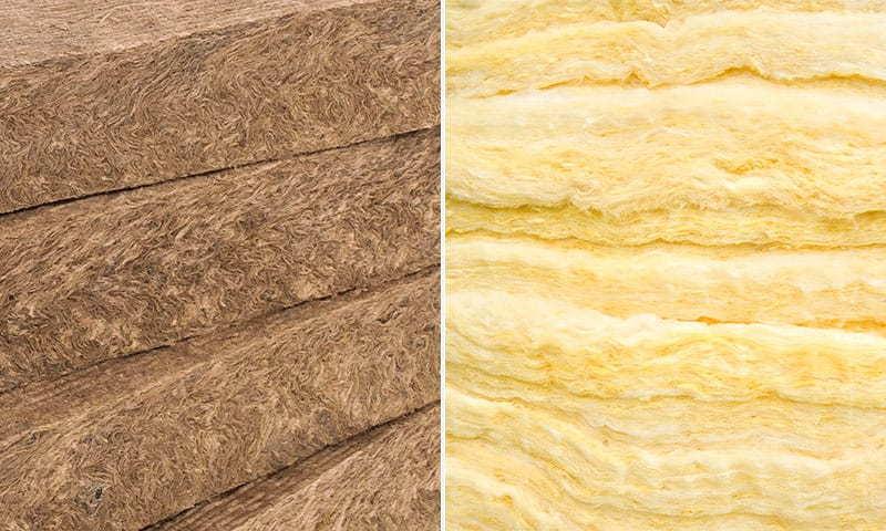 Отличия стекловаты от минваты — выбираем лучший вид утеплителя вместе