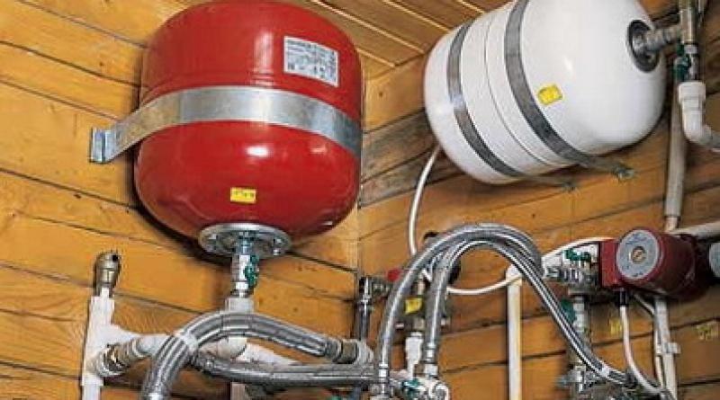 Где установить гидроаккумулятор для систем отопления