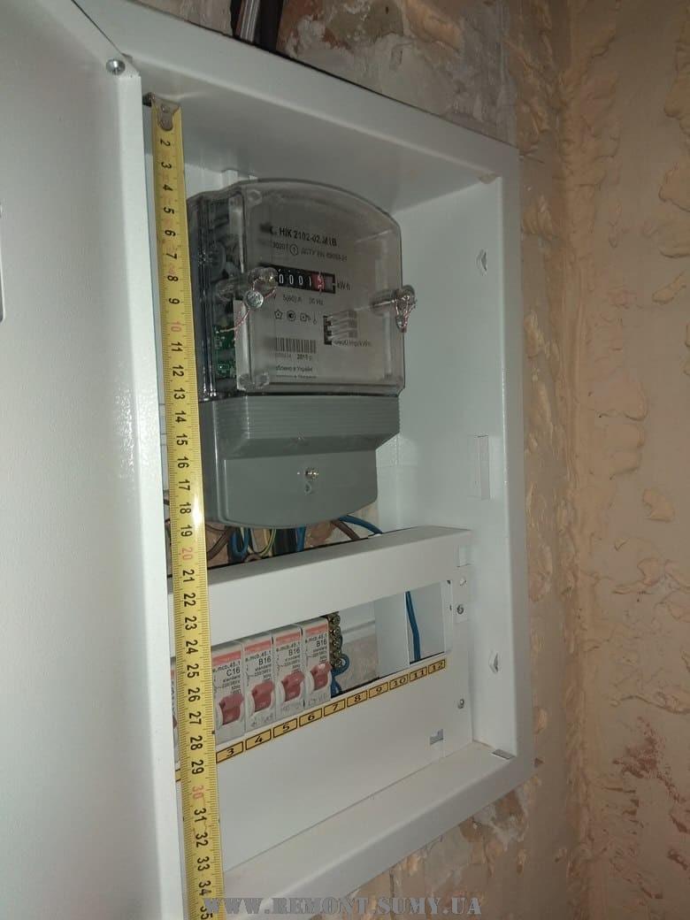 Порядок замены старого счётчика электроэнергии на новый