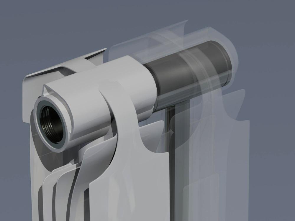 Устройство биметаллических радиаторов
