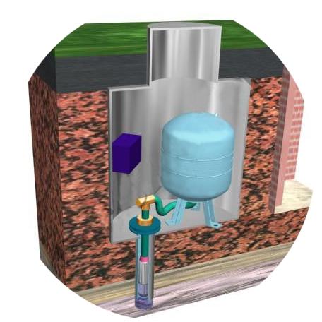 Кессон для скважины своими руками из бетона и кирпича особенности обустройства, пошаговые инструкции