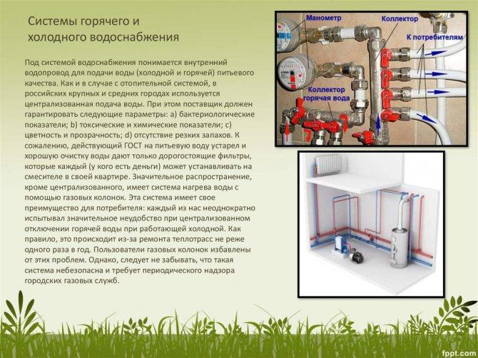 Давление воды в водопроводе (холодной и горячей): какие должны быть нормативы для системы в квартире и частном доме, в чем идет измерение напора манометром в трубах?