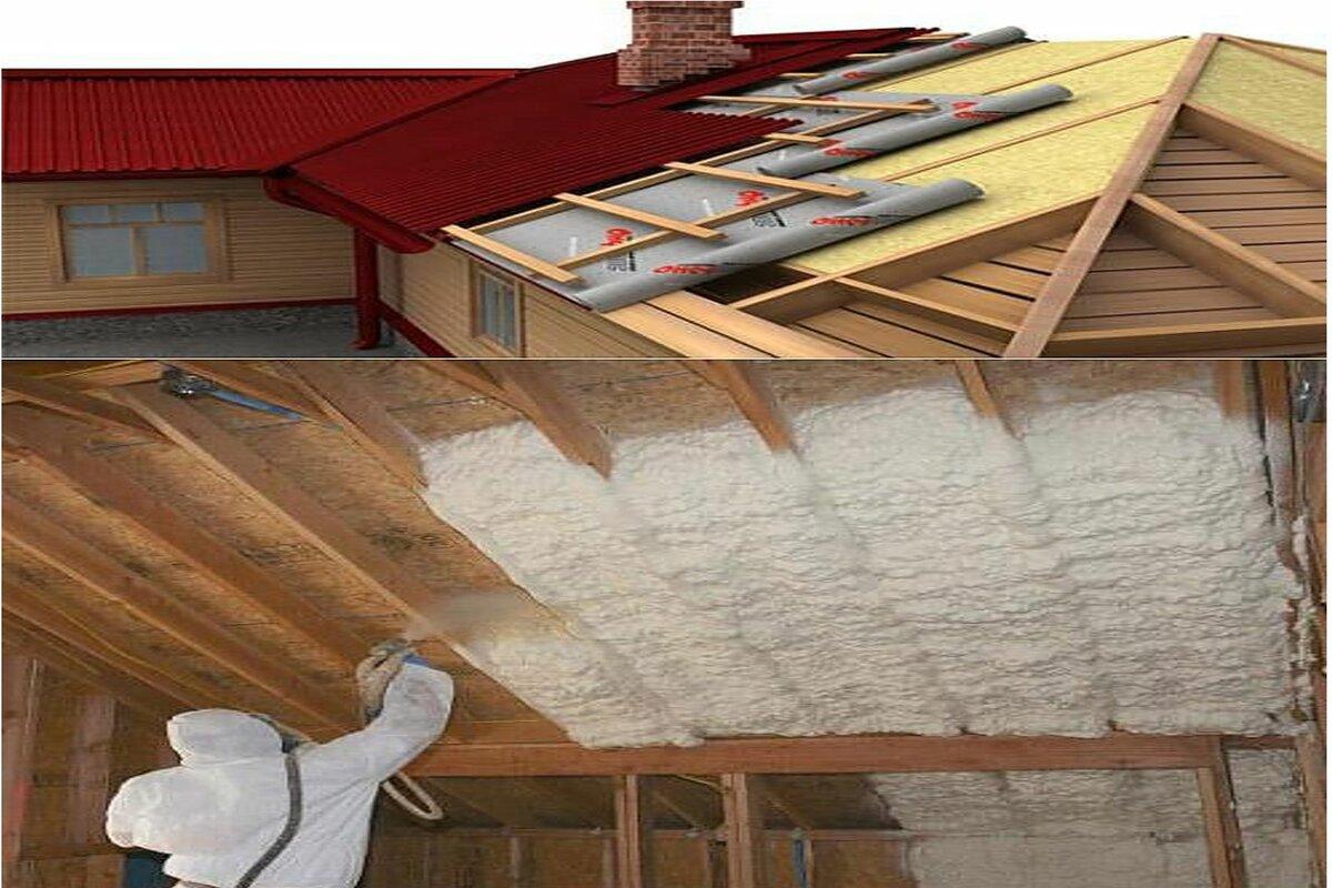 Виды утеплителя для крыши – выбор лучшего материала