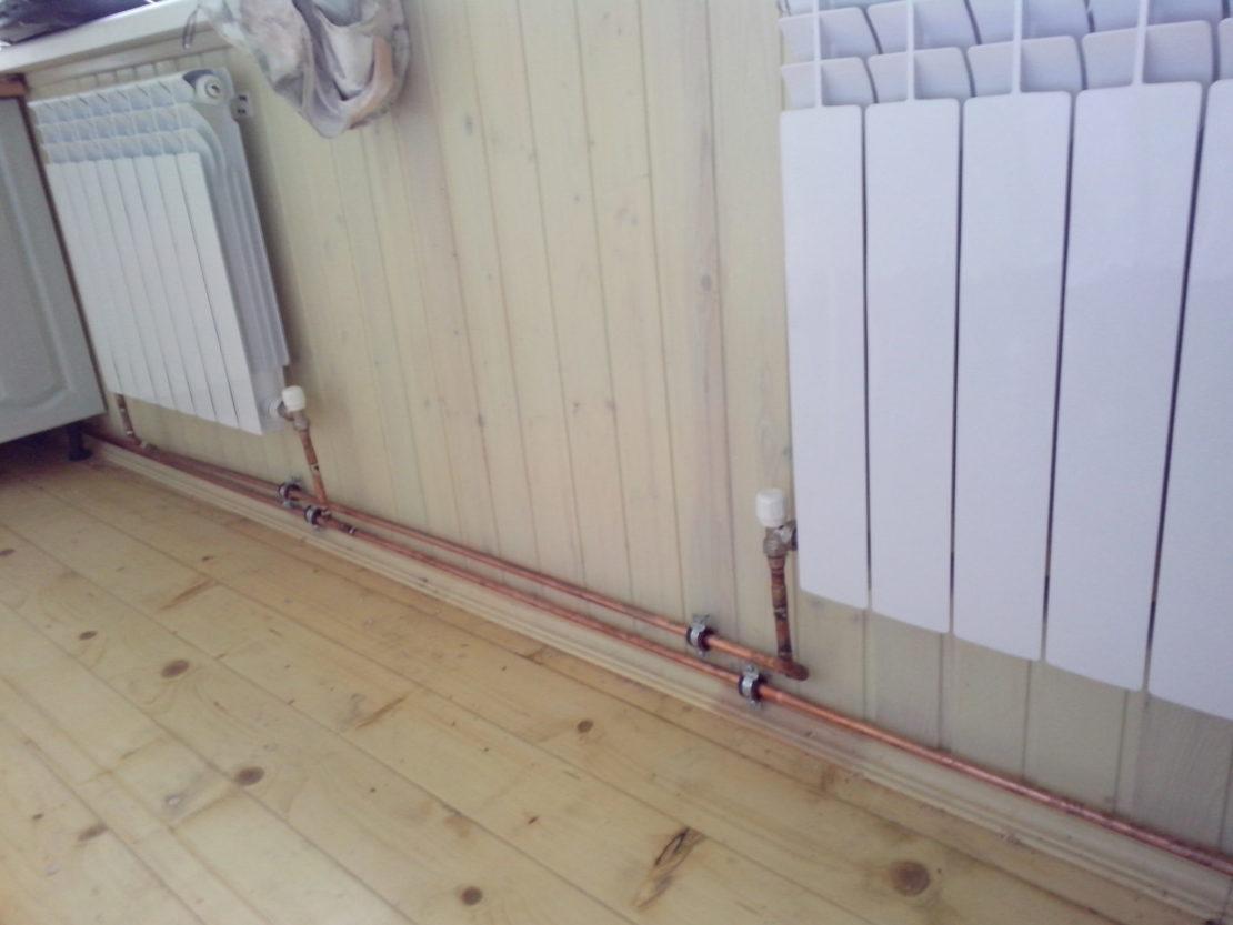 Трубы отопления в стене плюсы и минусы - клуб мастеров