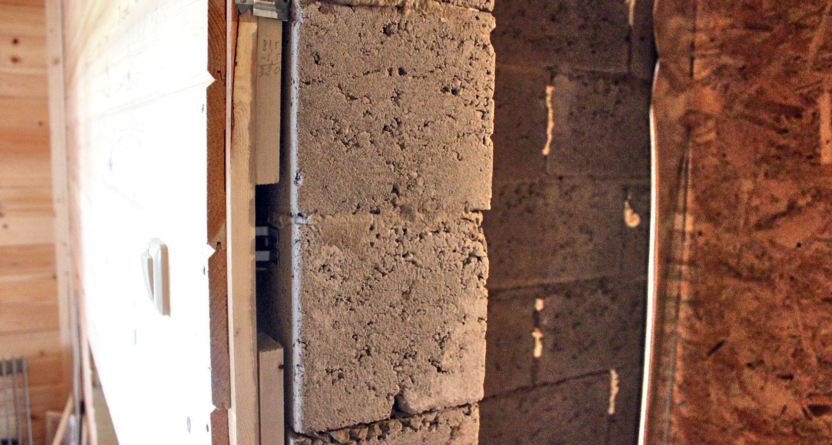 Утепление бани из керамзитобетонных блоков изнутри - строим баню или сауну