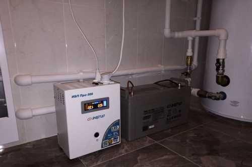 Инвертор для котла отопления в частном доме электрический и как своими руками газовый