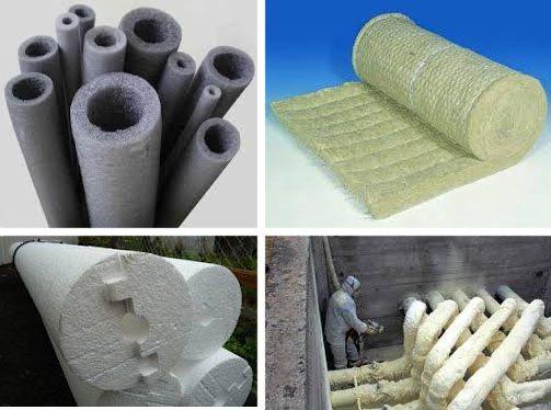 Как и чем утеплить трубы отопления на улице - выбор материала