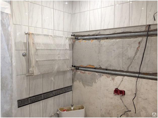 Перенос полотенцесушителя на другую стену: согласование, порядок монтажных работ - юридическая помощь