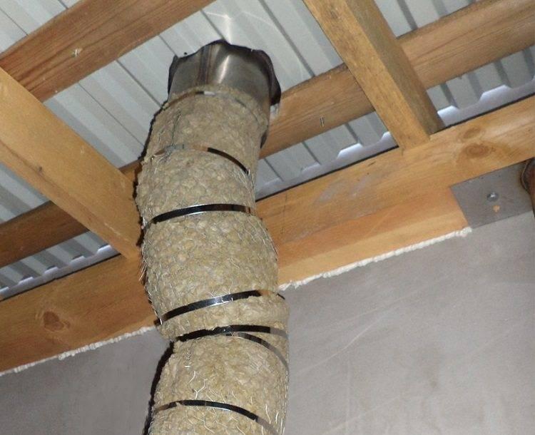 Чем изолировать металлическую трубу дымохода: выбор материала, особенности и технология