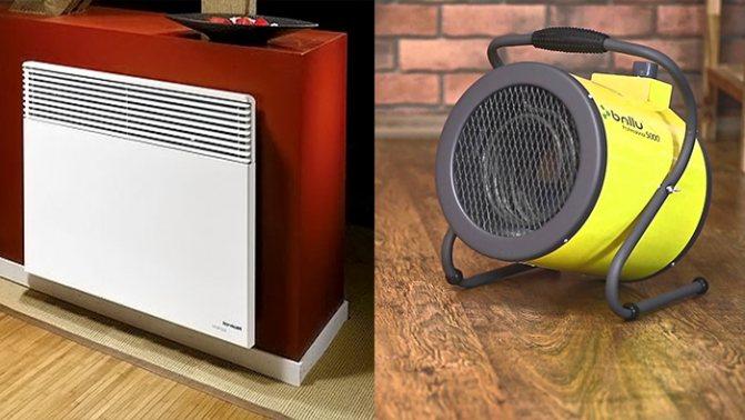 Какой обогреватель для гаража выбрать: основные виды, тепловая мощность устройств