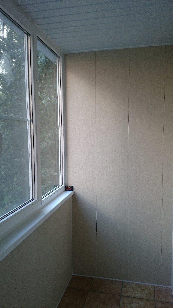 Какие панели выбрать для балкона?