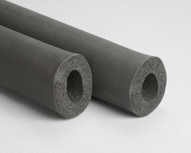 Вспененный каучук: утепление трубопроводов инновационным материалом