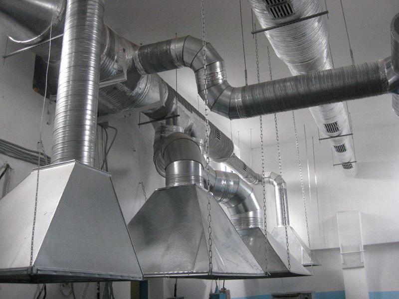 Система расчета вентиляции производственных помещений