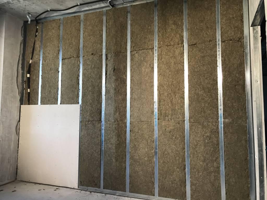Утепление стен гипсокартоном изнутри — делаем пошагово