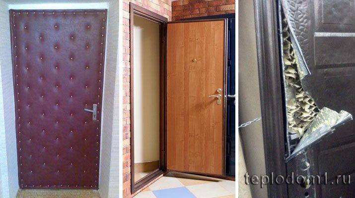 Как утеплить деревянную входную дверь? способы самостоятельного утепления