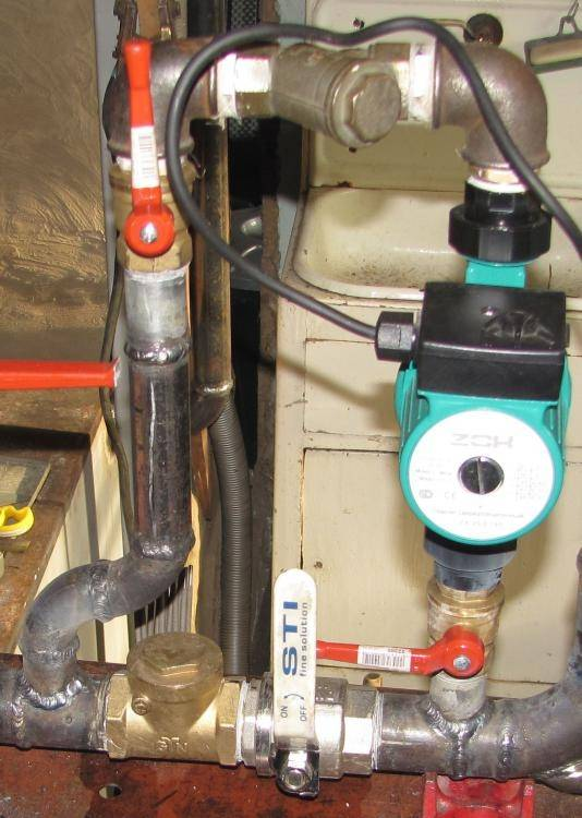 Два варианта врезки циркуляционного насоса | отопление дома и квартиры
