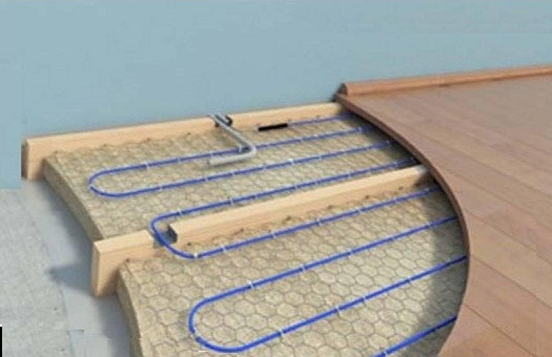 Теплый пол без стяжки – делаем водяной и электрический пол своими руками