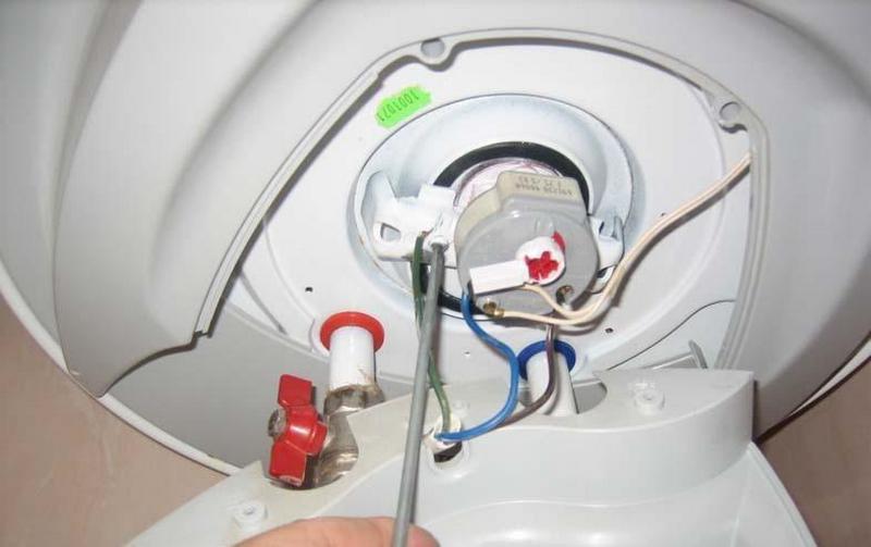 Замена тэна в стиральной машине аристон