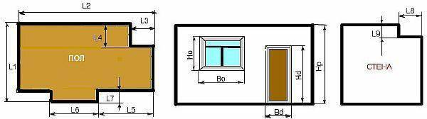 Как посчитать квадратные метры пола: какие замеры нужны для расчета и калькулятор онлайн