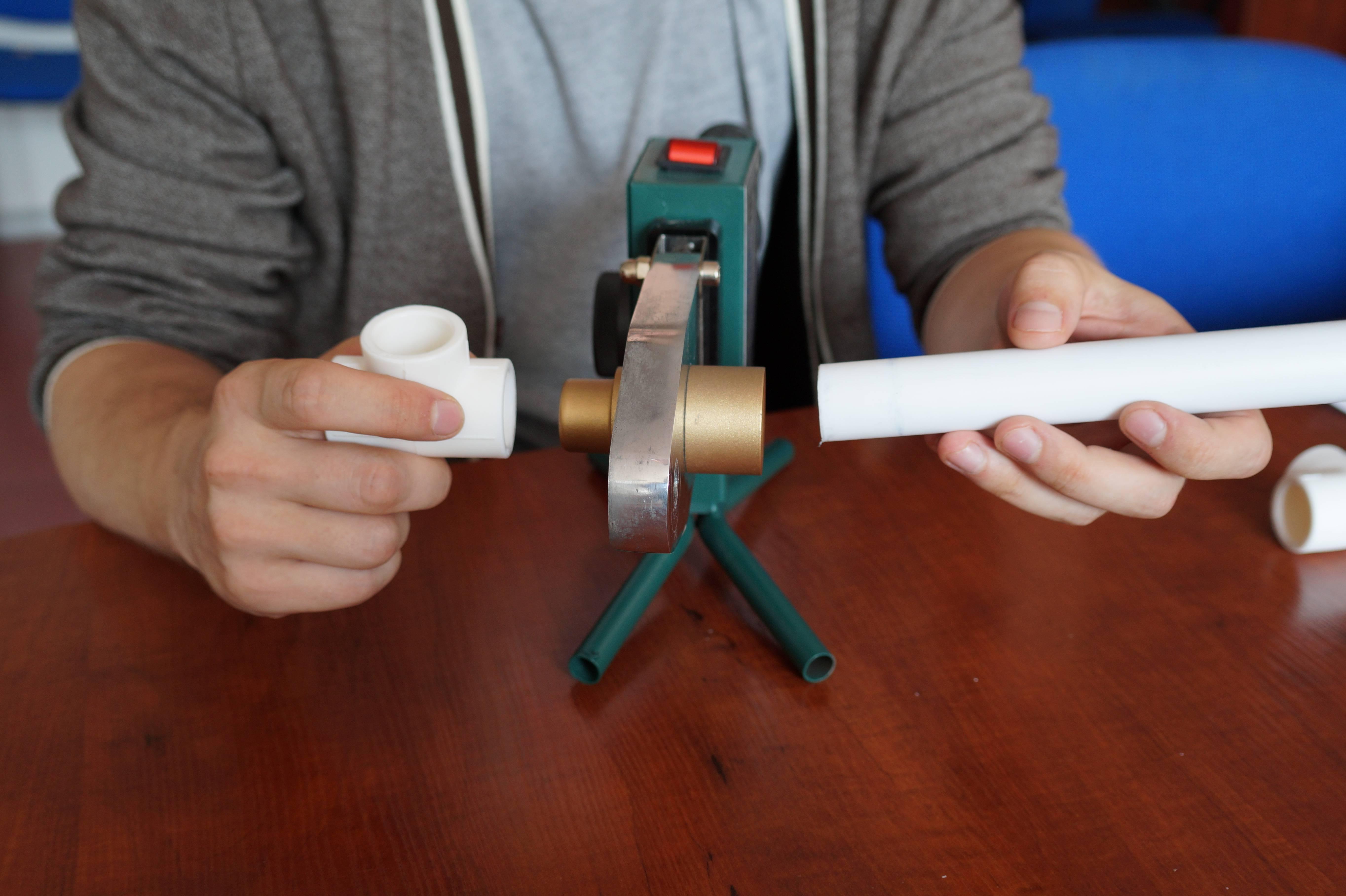 Особенности сварки полипропиленовой трубы