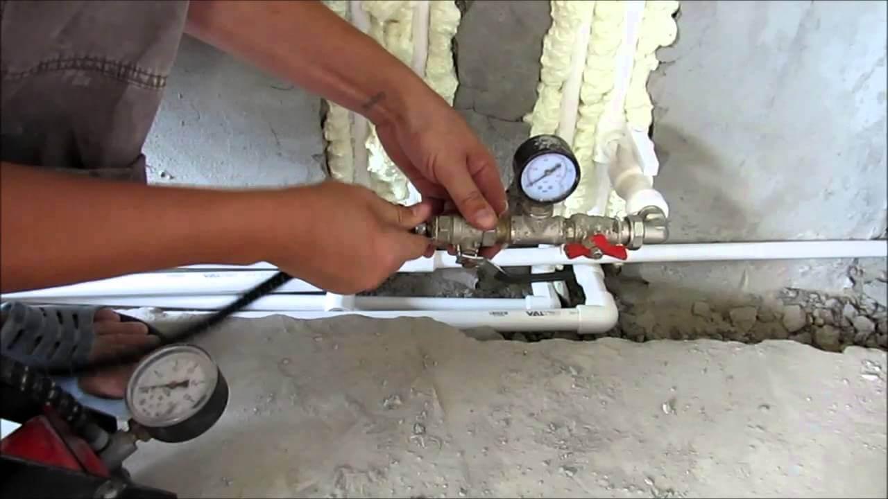 Что такое опрессовка системы отопления и как она проводится