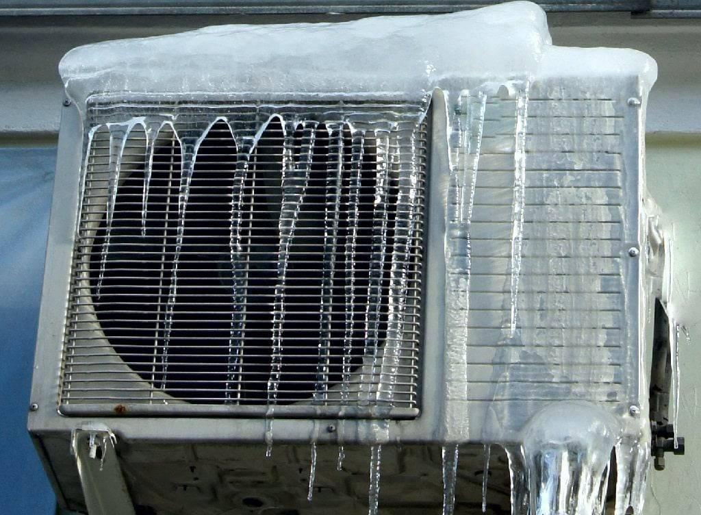 Особенности работы кондиционера в зимний период