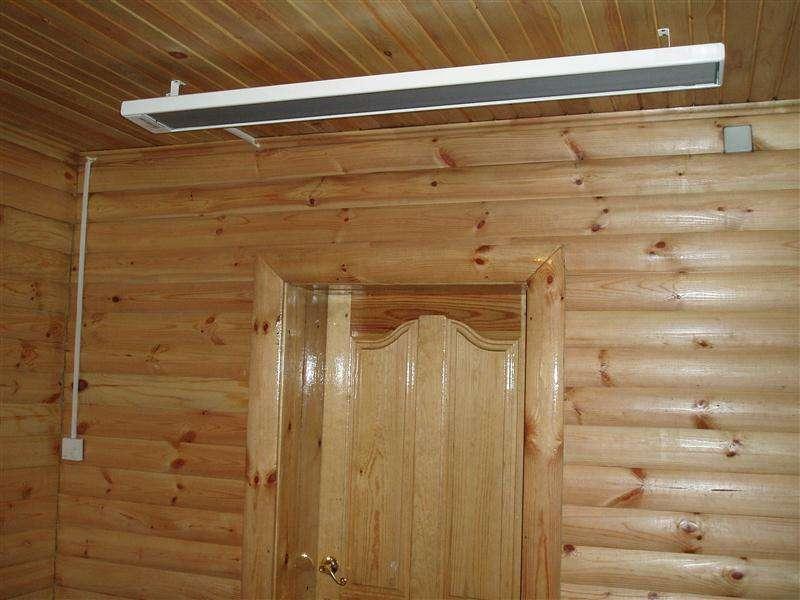 Как установить потолочный инфракрасный обогреватель эколайн - жми!