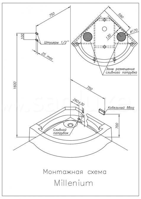 Сборка душевой кабины: фото-, видео- инструкции