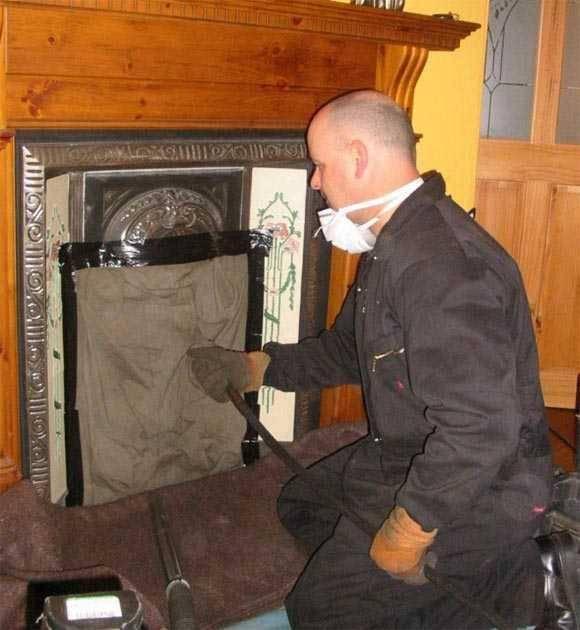 Как прочистить дымоход от сажи: химическая чистка, средства