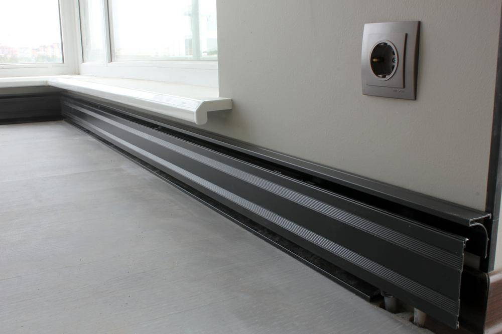 Электрический теплый плинтус: рассматриваем по полочкам