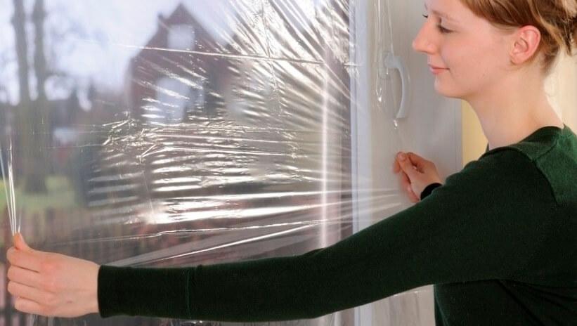 Теплосберегающая пленка для окон: правила использования теплоизоляционной пленки