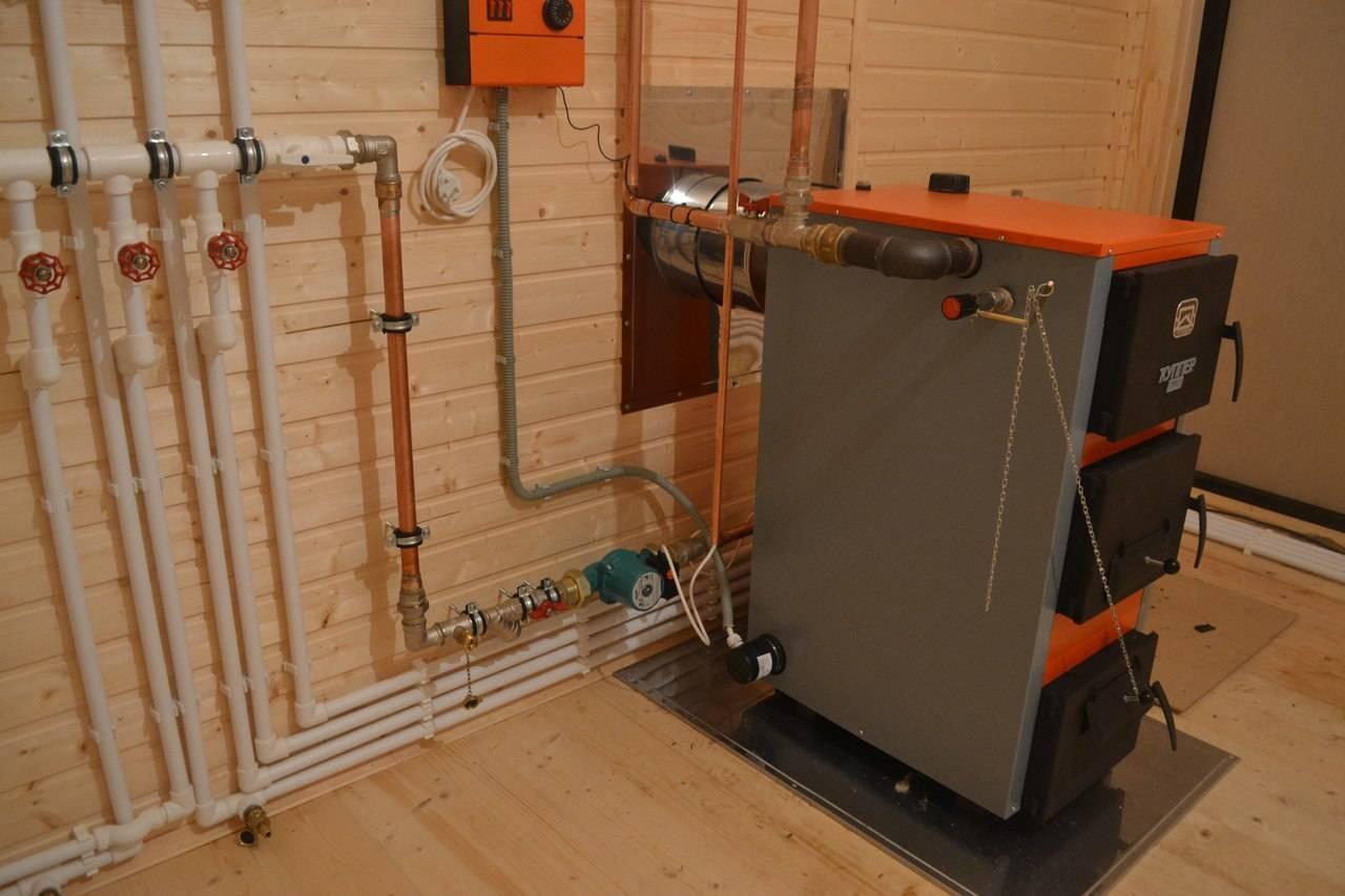 Отопление частного дома без газа и электричества — энергия солнца и земли