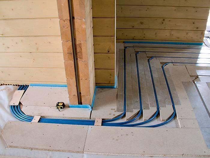 Как сделать теплый пол в деревянном доме – варианты и инструкции по выполнению работ