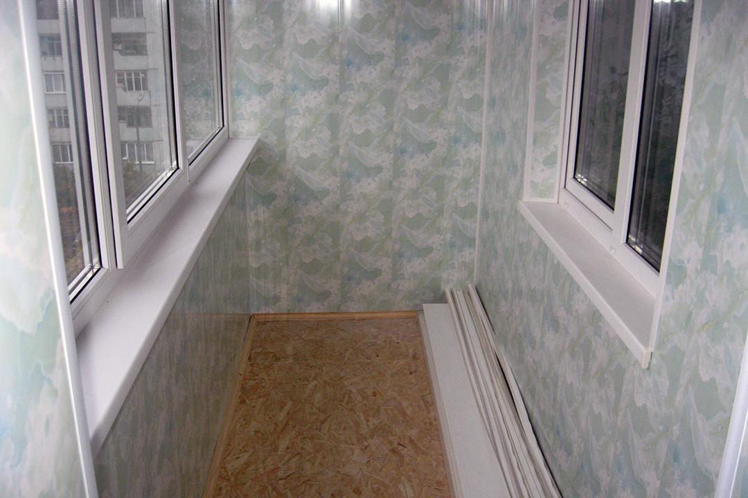 Отделка балкона пластиковыми панелями своими руками