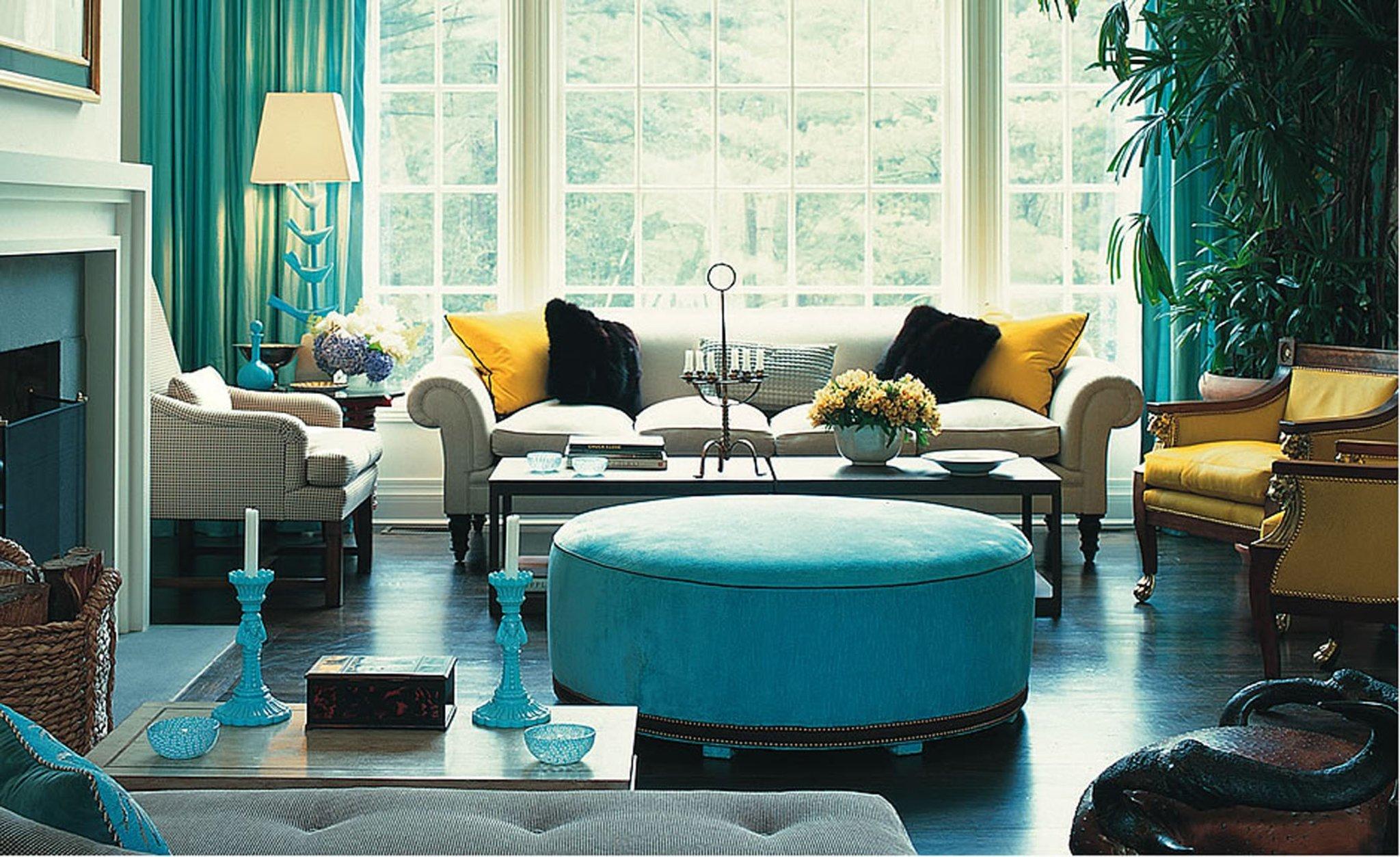 7 советов по использованию синего цвета в интерьере + фото | строительный блог вити петрова