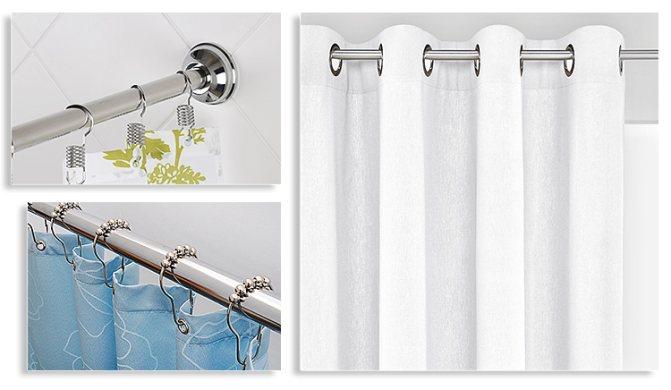 Штанга для ванной: современные формы, материалы, конструкции и 100 фото особенностей использования