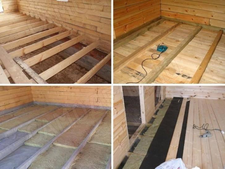 Как сделать пол в частном доме: деревянный, как залить, теплые полы