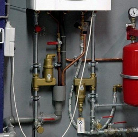 Воздушные сепараторы для домашнего отопления, удаление воздуха и шлама