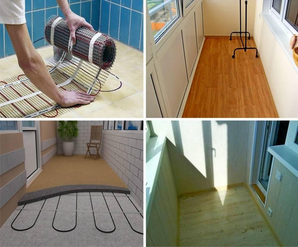 Теплый пол на балконе: плюсы, минусы и особенности монтажа,